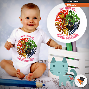 3-6 Months Baby Grows Look up to Dad Christmas Baby Shower Gifts Boys Girls