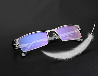Metal Half Rimless Short Sight Glasses Nearsighted Glasses  -1.0~1.5~2.0~3.0~4.0