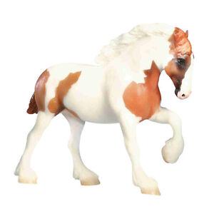 Breyer-1628-Chestnut-Pinto-Spotted-Draft-Horse-Paddock-Pal-Scale-Toy-Model-NIP