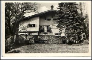Bad-Liebenstein-Thueringen-DDR-Postkarte-1953-Partie-am-Klubhaus-II-gelaufen