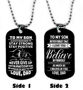 DOG-TAG-NECKLACE-A-Father-039-s-Gift-to-his-Son-6-prayer-love-jewelry