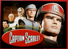 CAPTAIN SCARLET - Card #1 - Header Card - Cards Inc. 2001