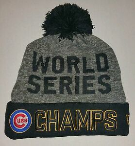 0c261ead8dc38 ... locker room hat cap 39thirty 5d189 ab2fd  czech official 2016 world  series champions champs era beanie chicago cubs hat a6e43 72f97