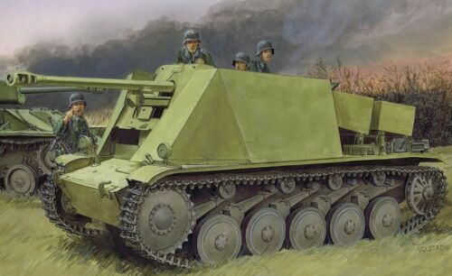 - Neu Dragon 6721-1//35 WWII Dt Sf 5cm Pak 38 Auf Pzkpfw II