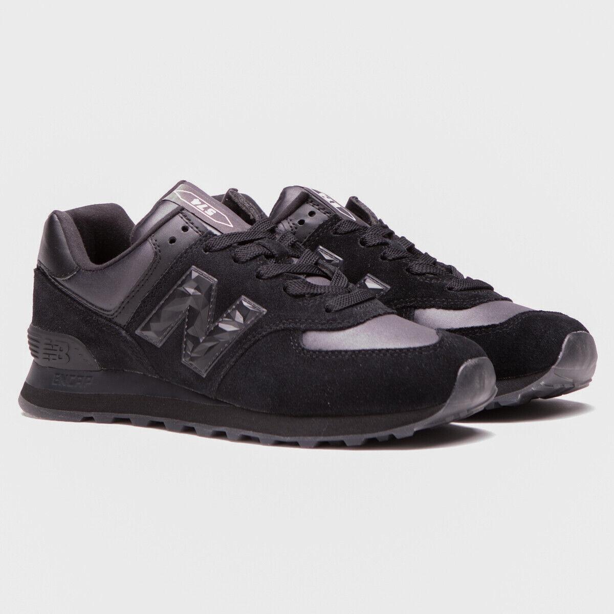 NEW BALANCE DONNE CLASSICHE nero WL574WNV RUNNING  LIFESTILE scarpe da ginnastica 6 -10  vendita economica