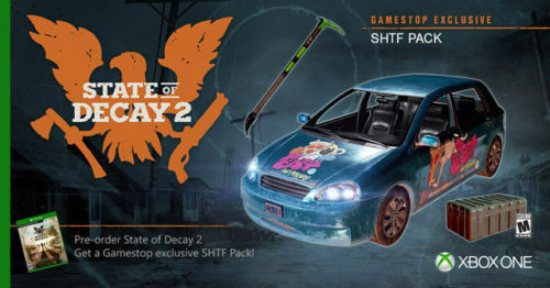 State Of Decay 2 SHTF Pack XBOX ONE
