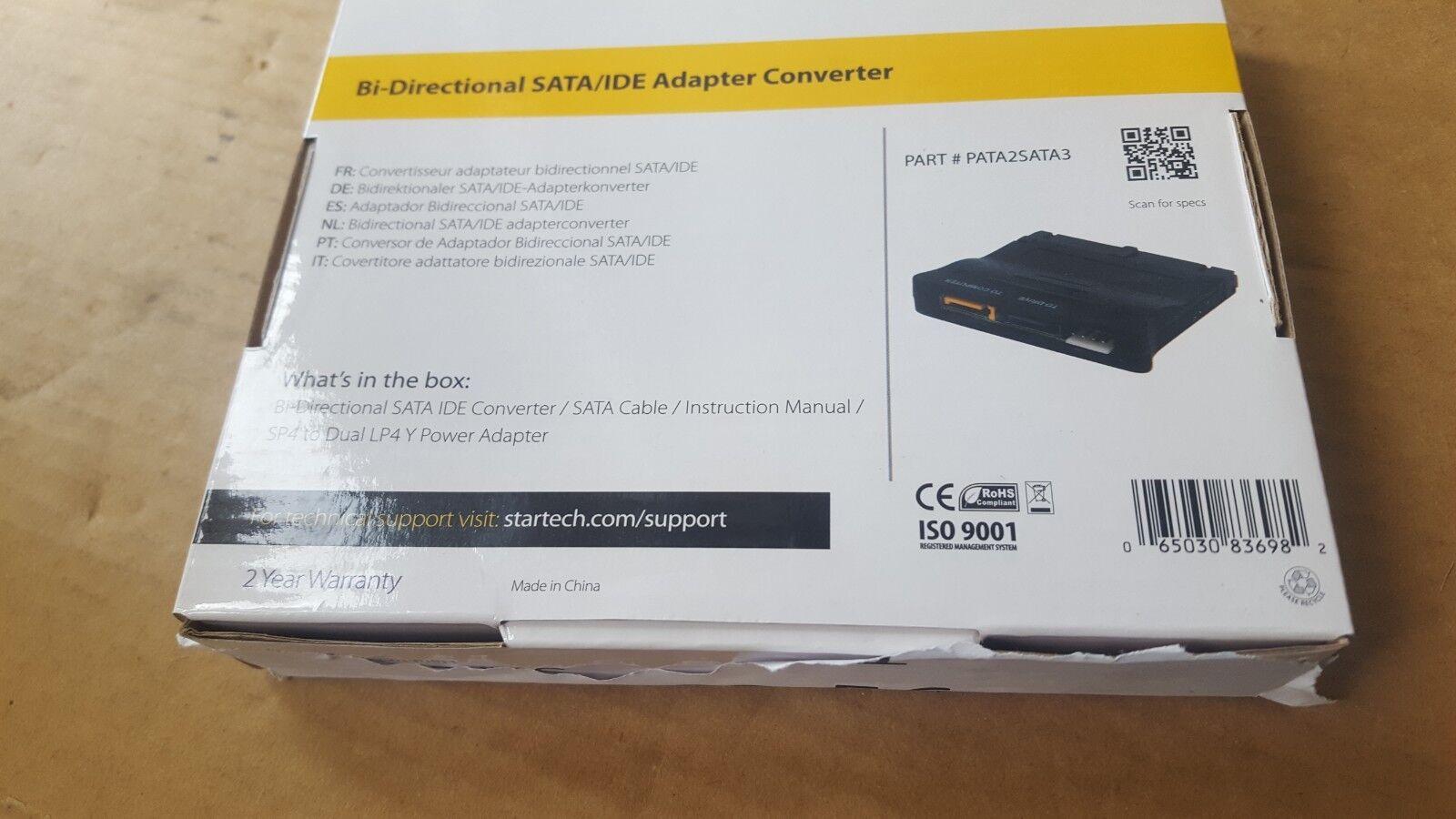 STARTECH PATA2SATA3 SATA IDE Adaptor Converter (BR1.6B5)