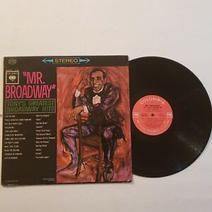 Tony-Bennett-034-Mr-Broadway-034-Greatest-Hits-Columbia-CS-8563-LP-Record-Vinyl