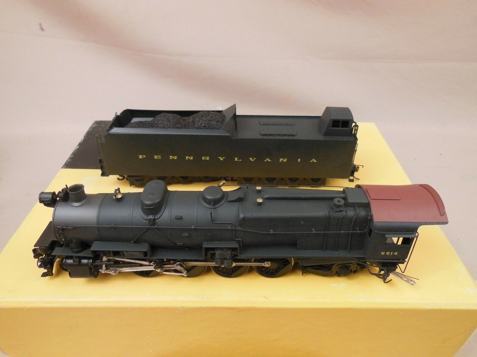 HO BRASS SUNSET Models  RER 4-8-2 M-1 Locomotive  prix bas 40%