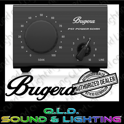 Bugera Ps1 Power Soak 100w Amp Attenuator In Stock Brand New Fast Shipping 748252174840 Ebay