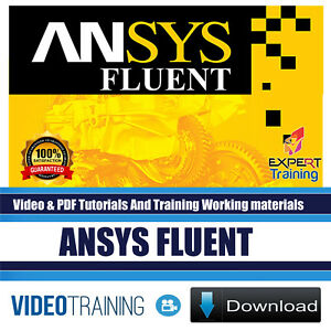 Details about ANSYS Fluent Video Training and Tutorials Working Files  DOWNLOAD