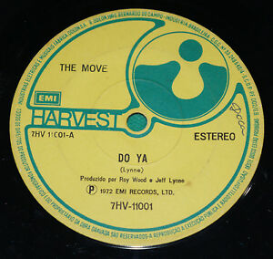 The Move Do Ya Brazil Rare 7 Quot Single 1972 Emi Elo Jeff