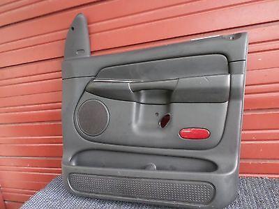 03 04 05 DODGE RAM 1500 QUAD CAB RIGHT FRONT DOOR PANEL SLATE OEM