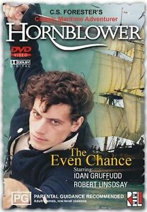 Brand-New-amp-Sealed-Hornblower-Even-Chance-Vol-1-DVD-2001-Rare-Reg-4-AUS
