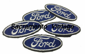 FORD-SMALL-Embroidered-Patches-5-Patches