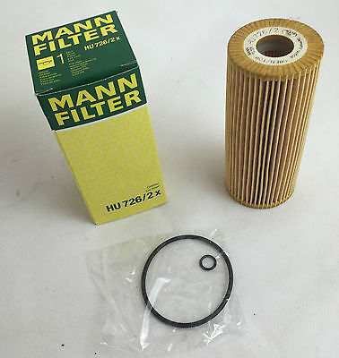 Homme-Filtre homme Filtre à huile hu726//2x vw audi seat skoda oilfilter Made in Germany