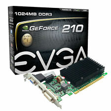 EVGA GeForce GT 210 1GB Low Profile Graphics Video Card HDMI DVI D-SUB