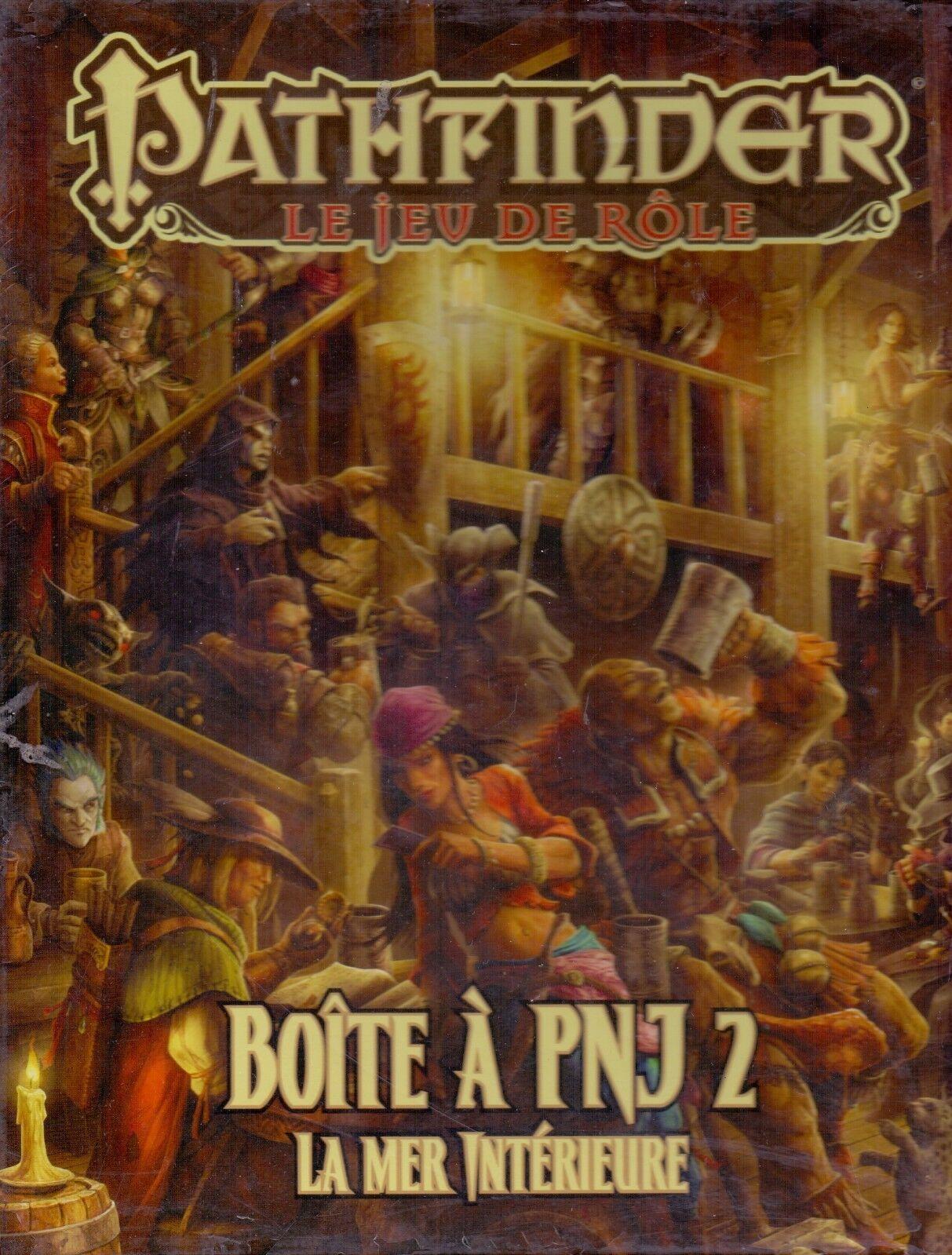 JDR RPG JEU DE ROLE     PATHFINDER BOITE A PNJ 2 164
