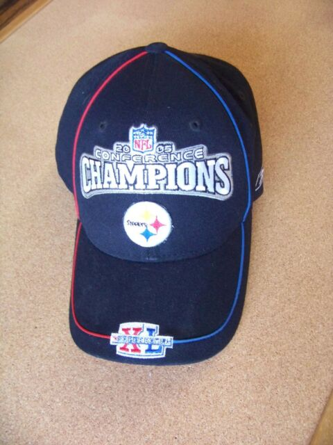 2005 Conference Champions Pittsburgh Steelers cap hat adjustable ADULT size NFL