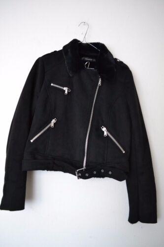 1255 Størrelse 267 effekt Biker Aw Zara 2017 L Sort Suede M Ref Jacket Xl 0wpOSF7qx