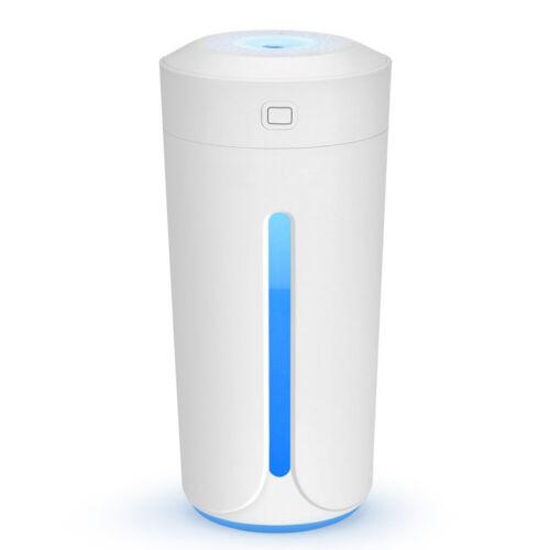 Portable Humidifier Cup Moisture Mobile USB Powered LED Night Light Humidifying