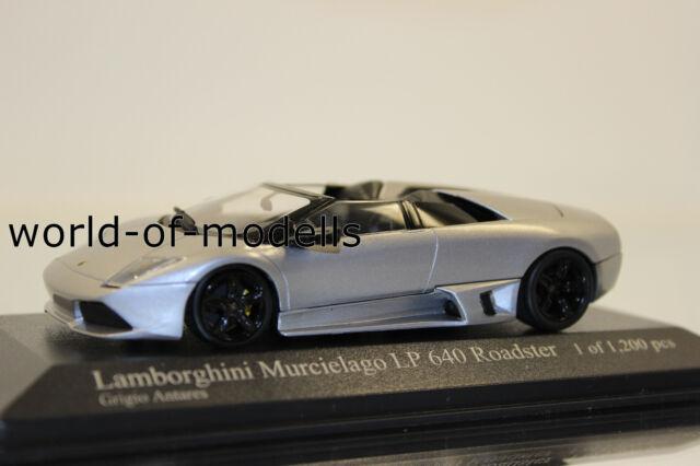 Minichamps 400103931 Lamborghini Murcielago LP 640 Roadster Gray 1:43 New Boxed