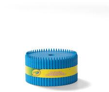Crayola Llc Serpentine Stripe Cerulean Storage Ottoman For Sale Online Ebay