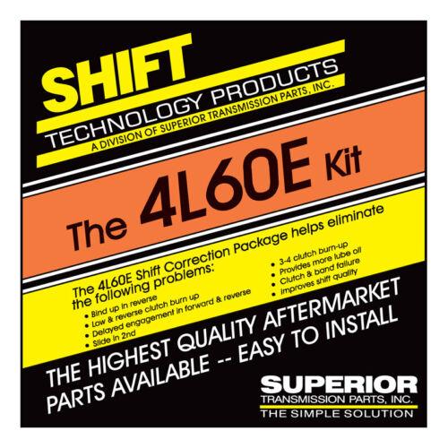 Except 98-Up w// EC3 Superior K4L60-E Transmission Shift Correction Package