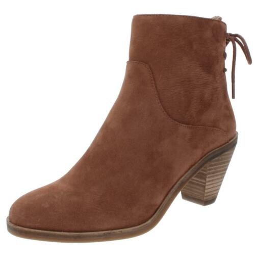 Lucky Brand Womens Jalie Brown Leather Booties Shoes 11 Medium B,M BHFO 8714