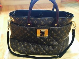 71bf1de1e6f3 Image is loading NEW-LOUIS-VUITTON-Quilted-Monogram-Canvas-ETOILE-EXOTIQUE-