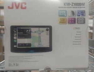 "OPEN BOX JVC KW-Z1000W 10.1"" Digital Multimedia Receiver with Built-in Bluetooth"