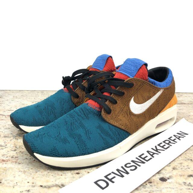 Size 9 - Nike SB Air Max Stefan Janoski 2 Geode Teal Tan for sale ...
