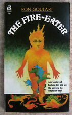 The Fire Eater by Ron Goulart PB 1st Ace 28860 - unusual native art witchcraft