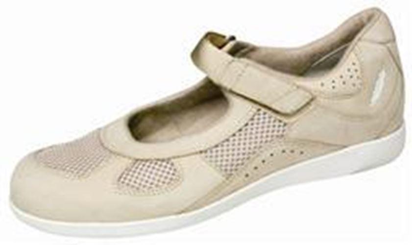 Drew Damen Delite Orthopädisch Schuhe Knochen Nubukleder Netz