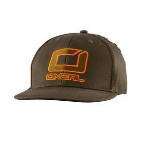 ONeal-Basecap-Logo-Olivgruen-Snapback-Cap-Muetze-Fan-MX-DH-FR-BMX-Moto-Cross