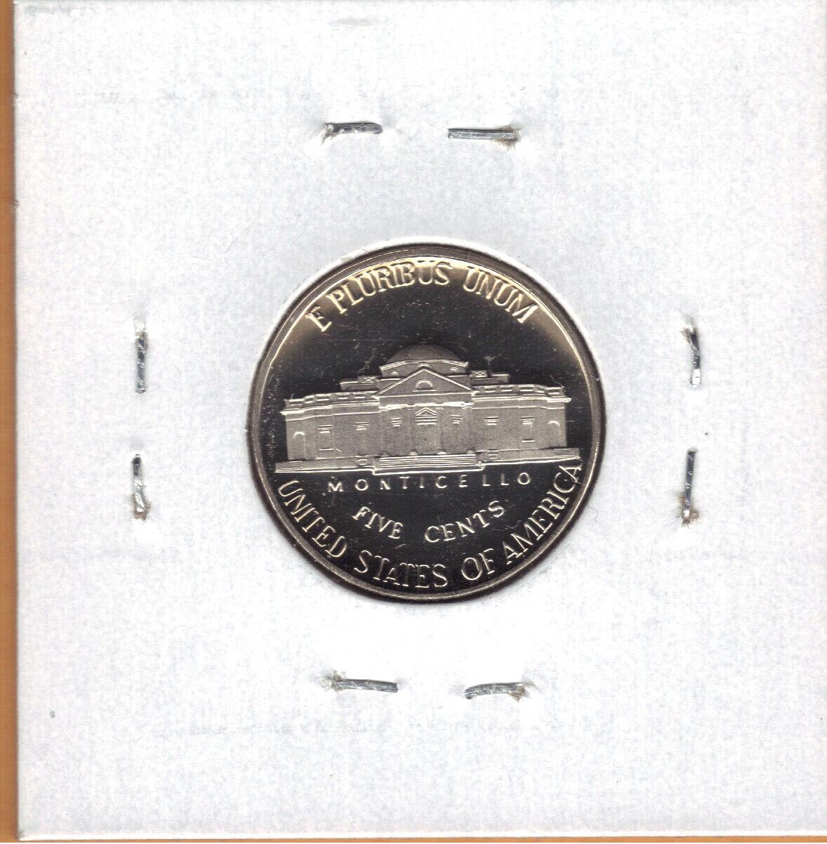 2000-S Jefferson Nickel PR70DCAM PCGS Proof 70 Deep Cameo