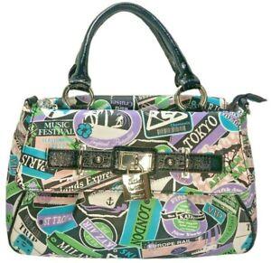 NWOT Kathy Van Zeeland Fifth Avenue Purse Handbag Travel Bag Handles Strap