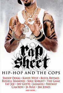 Rap-Sheet-Hip-Hop-and-the-Cops-DVD-2007-NEW-Factory-Sealed