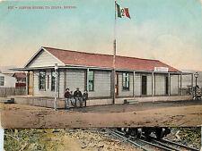 Vintage Postcard Customs House Tiajuana Tijuana Mexico BC Mitchell 401