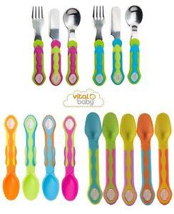 Vital-Baby-5-Soft-Tip-Weaning-Spoons-Cutlery-Set-BPA-Free-Baby-Spoon-Fork