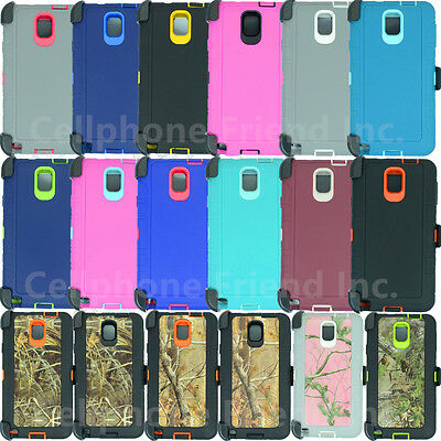 for Samsung Galaxy Note3 Heavy Duty Defender Case (Clip&Holster FIts Otterbox)
