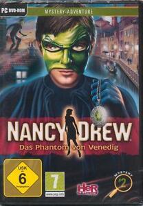 Nancy Drew - Das Phantom von Venedig / PC DVD / Originalverpackt - Deutschland - Nancy Drew - Das Phantom von Venedig / PC DVD / Originalverpackt - Deutschland