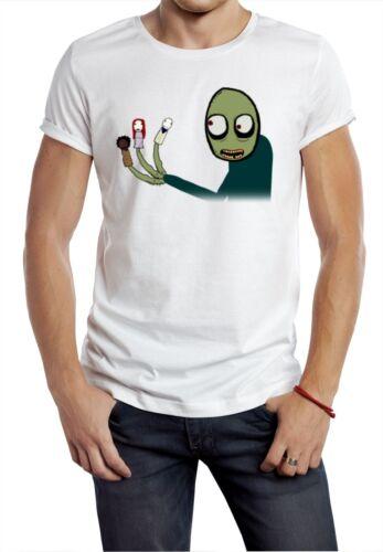 Salad Fingers Spoons tee t shirt NIGHTMARE HALLOWEEN rusty hubert cumberdale W