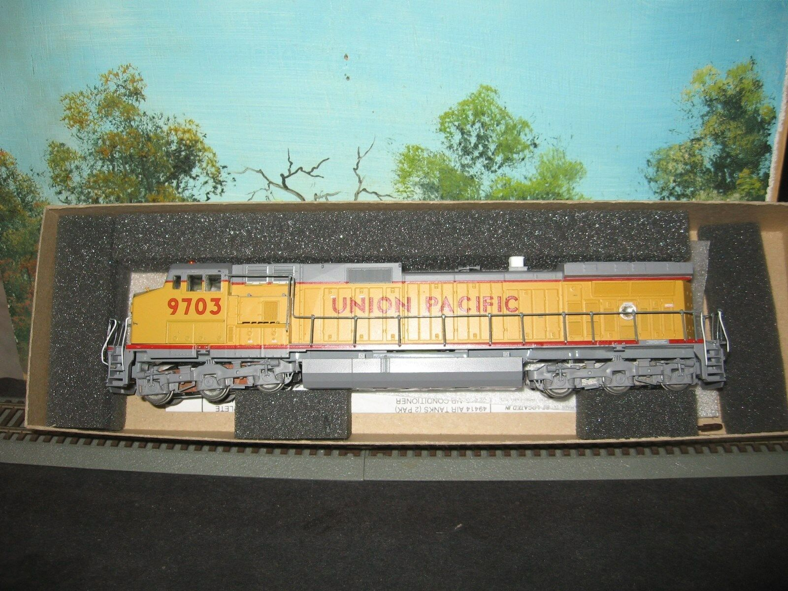 ATHEARN HO SCALE  4910 C44-9W UNION PACIFIC  9703 POWErosso