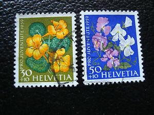 Switzerland-Stamp-Yvert-and-Tellier-N-637-638-Obl-A19-Stamp-Switzerland