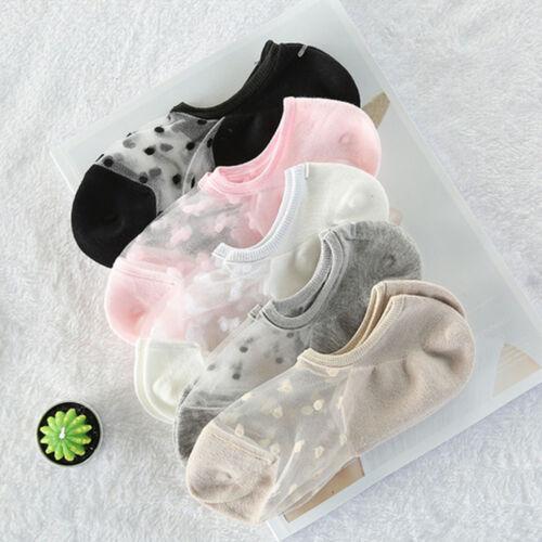 Liner No Show  Ankle Girls Cotton Cute Transparent Lace Women Socks
