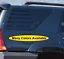 1X or 2X American Flag Decals Toyota 4runner SR5 Vinyl Decal fits 2010-2019