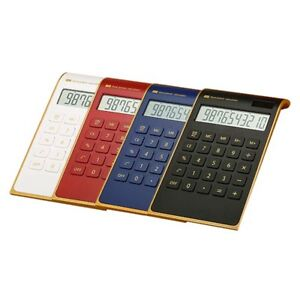 Ultrathin Dual Power Large LCD Display Desktop Calculator for School Office Good