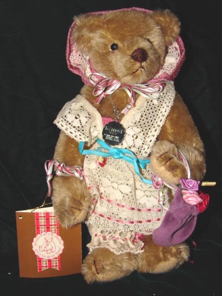 Teddy Bear BY Gorham  Beverly Port Gorham Teddy Bear Limited Edition Bp No.3