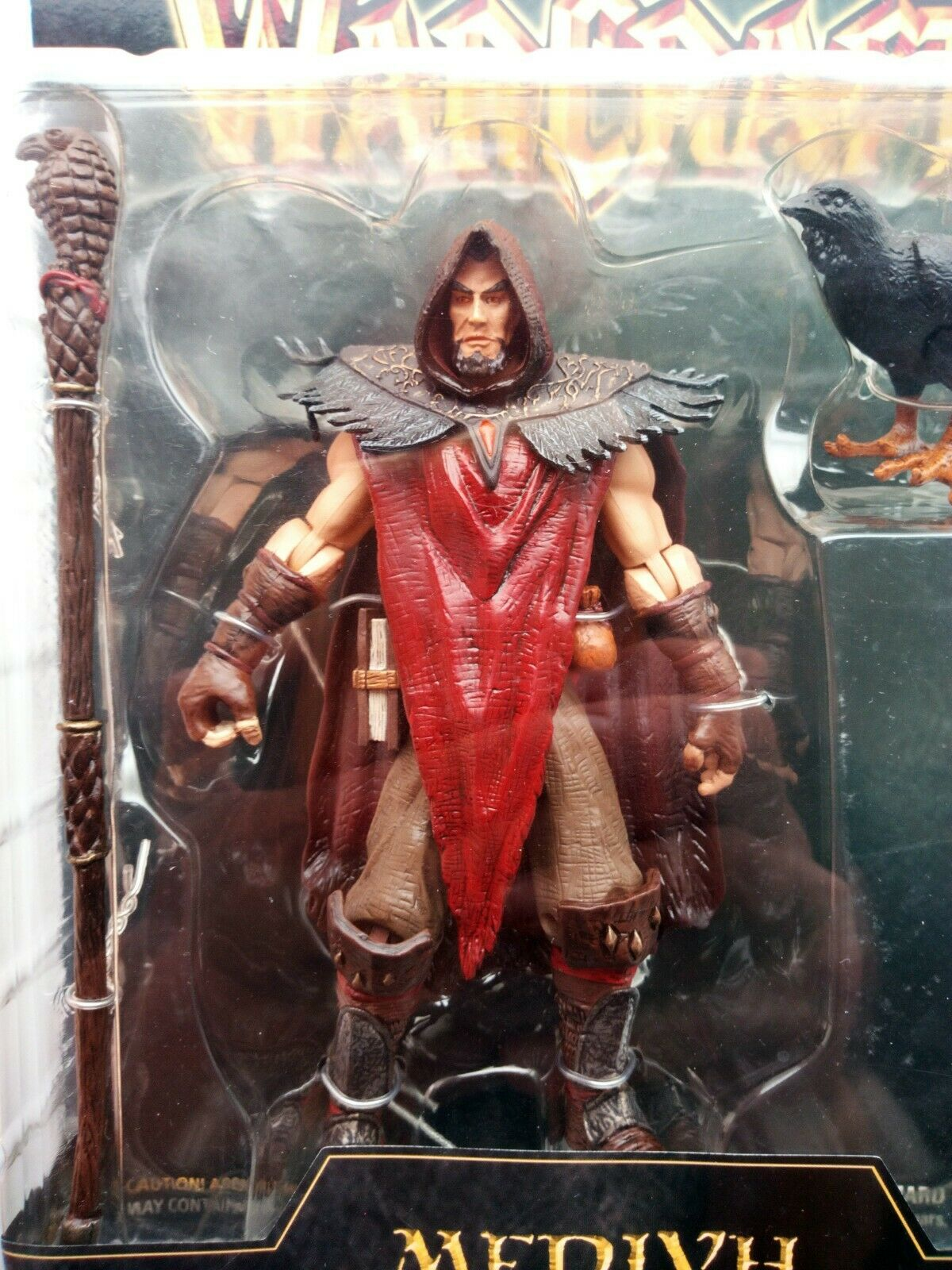 Medivh figura Warcraft III Series 2 Toycom Blizzard wow world of Warcraft única